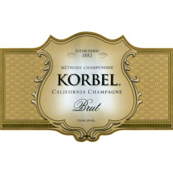 Korbel Brut is America's favorite bottle-fermented champagne. It is used to celebrate more weddings, anniversaries, and New Years celebrations than any other quality champagne. Korbel Brut is light and crisp, with spicy fruit flavors. It is finished with a 1% dosage for a balanced medium-dry finish. Korbel Brut is perfect for every celebration and many meals. Try it with chicken dishes, oriental foods, especially those using lemon grass or mild curries. Korbel Brut is also great served with…