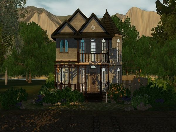 Old Fashioned Houses the old fashioned housegoopycarbon - sims 3 downloads cc