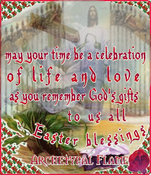 May your time be a celebration of life and love. as you remember God's gifts to us all.Easter blessings, Beloved souls. Ojalá tu tiempo de ser una celebración de vida y amor,bendiciones de pascua almas queridas. Love and light (agape ke fos). #celebration #lige #love #God #gifts #Easter #blessings #light #agape #fos #archetypal #flame #pasqua  Archetypal Flame Αρχέτυπη Φλόγα - Google+