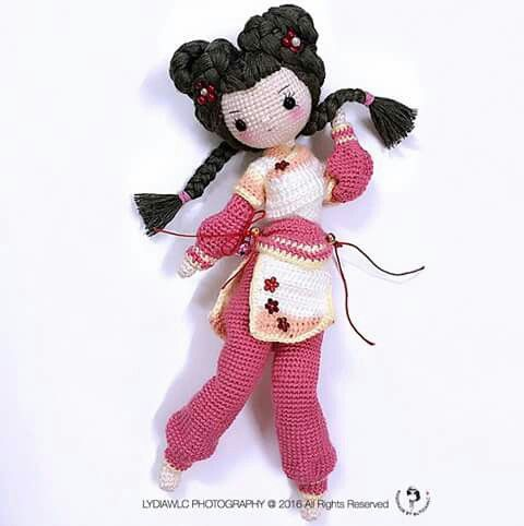 Amigurumi Geisha Tutorial : 132 best images about Amigurumi dolls 2 on Pinterest ...