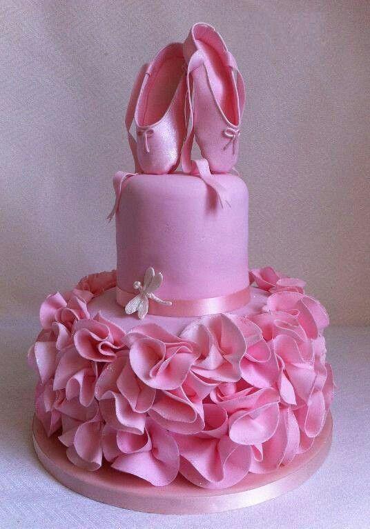 ballerina party / festa bailarina / bolo / cake