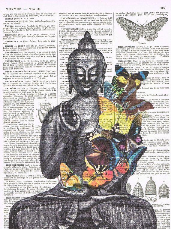 Buddha.meditate.yoga.ButterfliesGiftRepurposed by studioflowerpower, $8.50