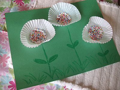 Cupcake Liner Flowers - so cute and so easy!