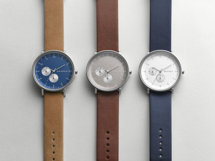 Hald Leather Multifunction Watch