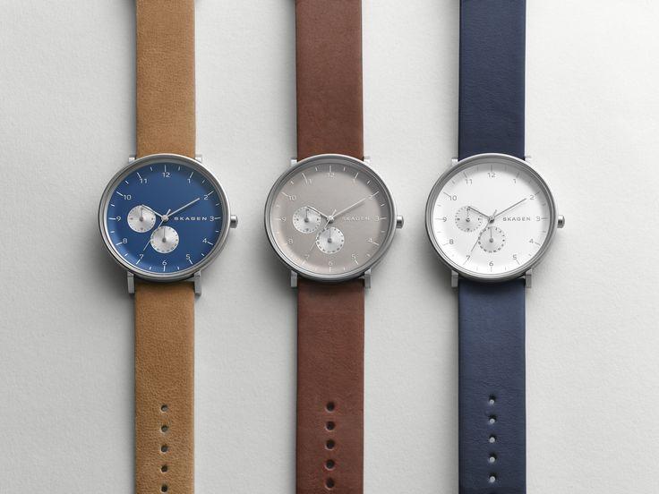 Hald Leather Multifunction Watch