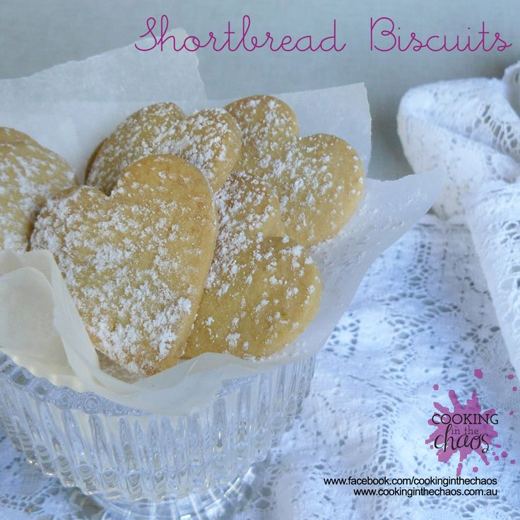 Shortbread Biscuits - Thermomix Recipe - Cooking in the Chaos