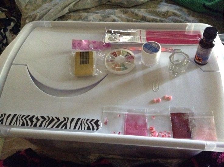 Acrylic nail starter kit !! PLEASE READ!!!!!!