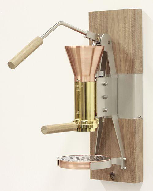 Hand operated #Coffeemachine