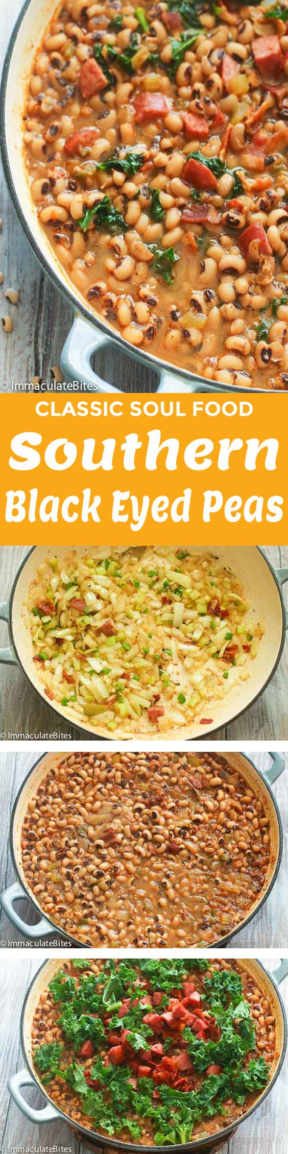 Southern Black Eyed Peas Recipe or Hoppin' John is a hearty, warm and soulful food. This blacked eyed peas recipe is smokey, spicy with a deep yet not too overwhelming bacon flavor. A Southern traditional dish served on New Year's Day to bring good luck charm! I love anything beans! Perhaps, it all …