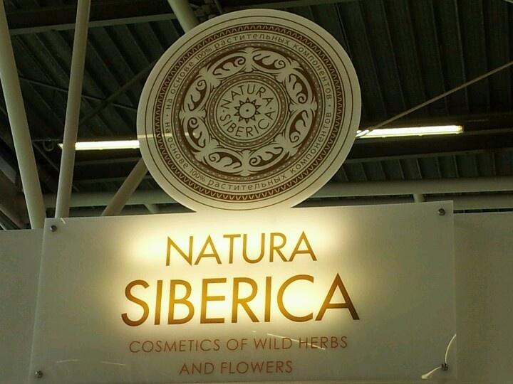 Natura Siberica en Cosmoprof 2013.