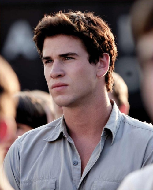 Liam Hemsworth as Gale in The Hunger Games