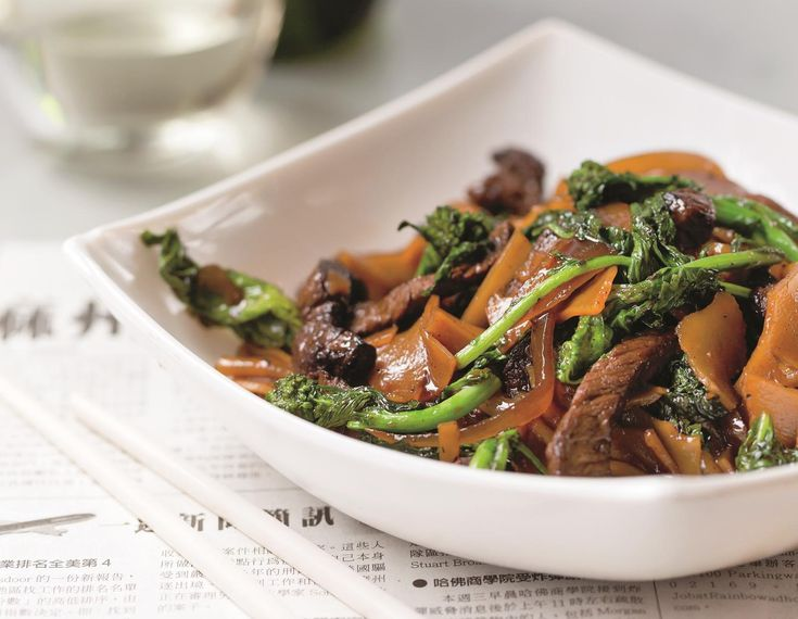 Beef and Chinese broccoli chow fun is an elevated update of a take-out classic, with plenty of ginger and pepper, and chewy rice noodles to soak up the savory...