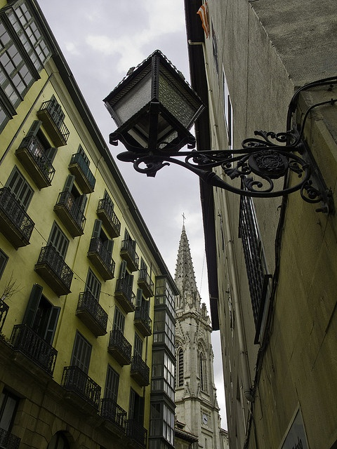 """Old Town - Bilbao, Basque, Spain"" -     I dream of living in an apartment building like this one."