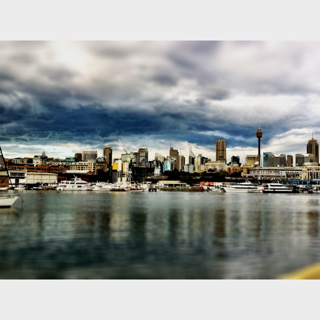 View from my old place in Sydney.