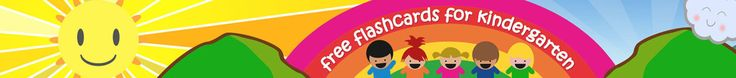 Flashcards For Kindergarten - FREE Printable Flashcards & Posters