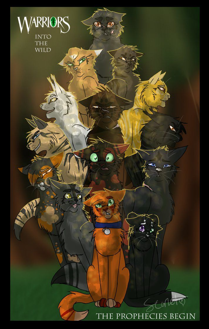 from''the apprentice's quest'' Warriors (c) Erin Hunter art (c) by me