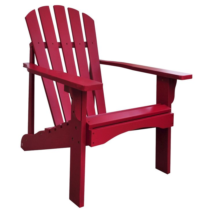 The Rockport Adirondack Chair is made for relaxing outside on a warm summer night. This patio chair would look great on your deck or next to a fire pit. Stay comfy with the contoured back and arm rests. Make a bold statement with a few of these wood Adirondack chairs on your patio. You don't need to worry about leaving your chair outside because it's decay resistant, rust resistant and weather resistant. There's also a 1 year limited manufacturer warranty. Assembly is ...