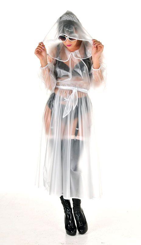 Pvc Regenmantel Glamour Regenmantel Rainwear Raincoats Style Fashion Pvc Raincoats