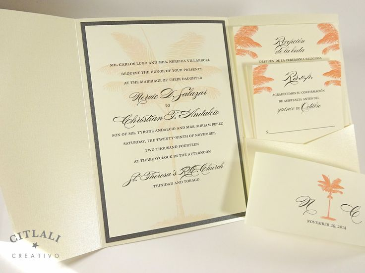 78 Best Beach Wedding Invitations, Ceremony Stationery