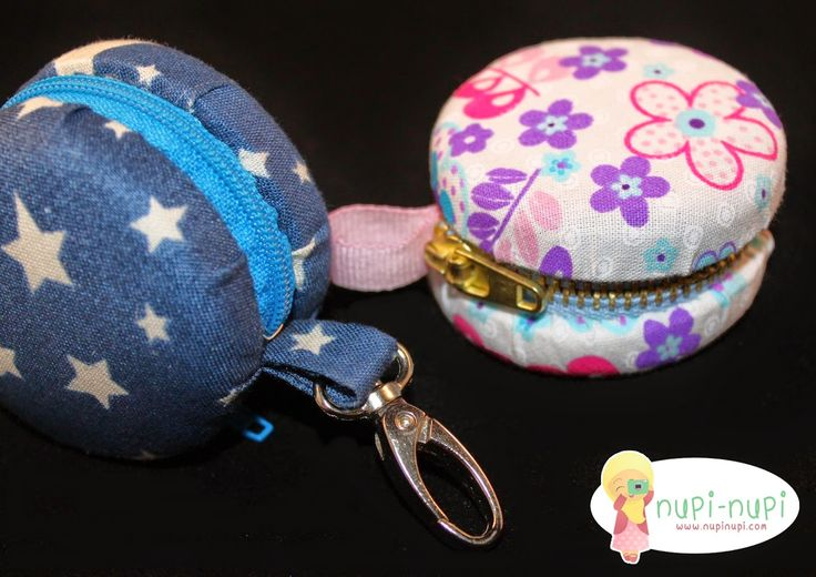 Purse macaroon from the water bottle cap