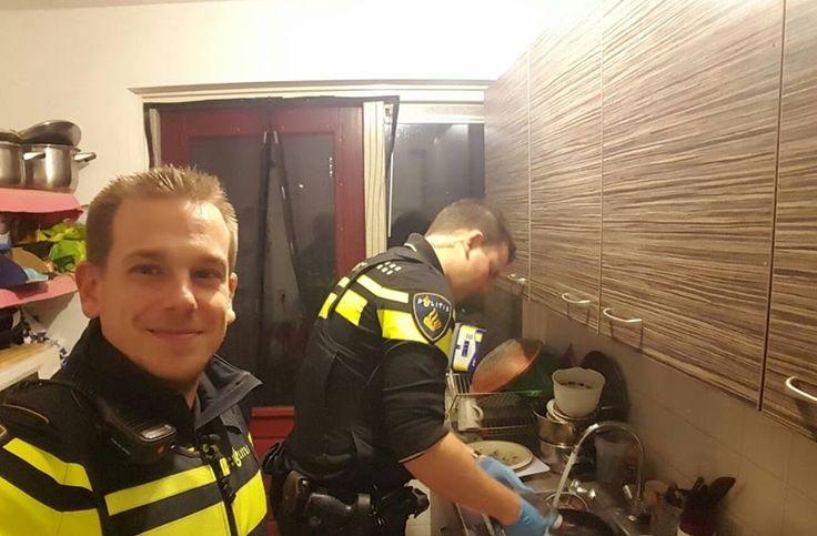 это интересно, Politie Eindhoven,поступок,полиция