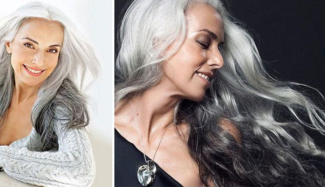 ФОТО: Вдохновляющие люди — 59-летняя седовласая бабушка востребована как fashion-модель