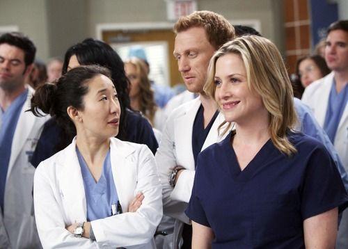 Grey's Anatomy Online | ... - Photo Gallery: Grey's Anatomy: The Cast Says Farewell to Sandra Oh