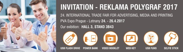 24. INTERNATIONAL TRADE FAIR FOR ADVERTISING, MEDIA AND PRINTING PVA Expo Prague - Letnany 24. - 26.4.2017 Our exibition:  HALL 3, STAND 3B43