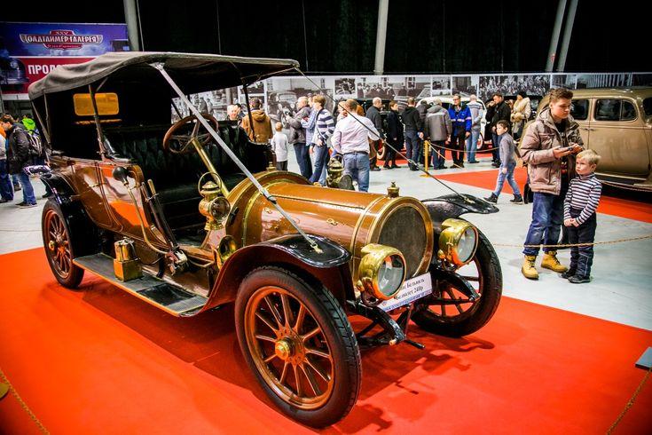 Выставка старинных автомобилей «Олдтаймер-Галерея»