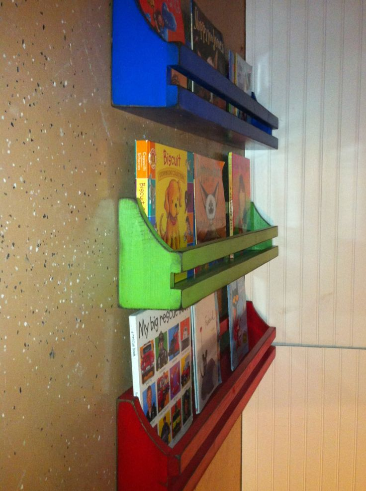 1000 ideas about hanging bookshelves on pinterest