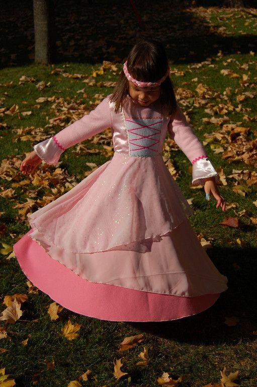 Tuto robe de princesse