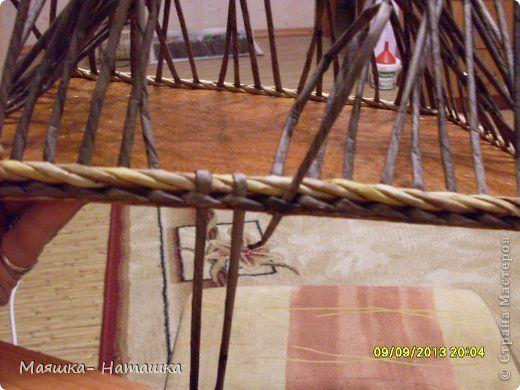 Мастер-класс Плетение МК загибки донышка Бумага газетная Картон Трубочки бумажные фото 2