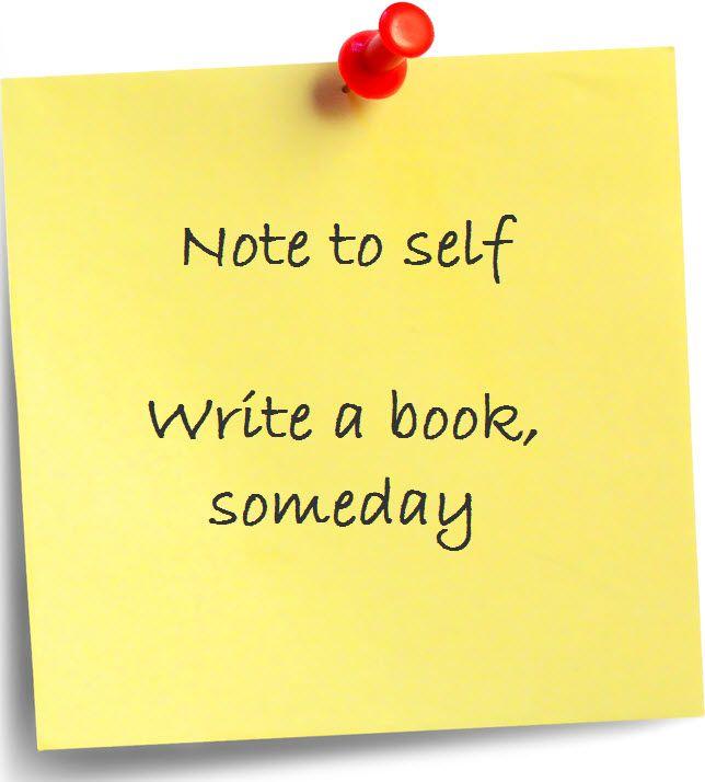 i would like to write a book