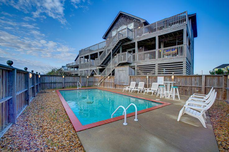 43 best waves vacation rentals hatteras island images on for Hatteras cabins rentals