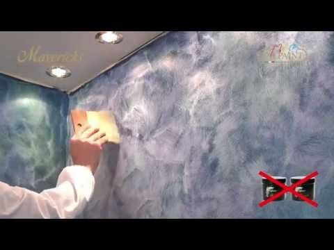 Short Clips Rag Roller Painting Technique Faux Finish Painting by The Woolie - YouTube