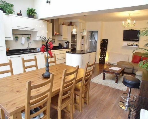 Open Plan Kitchen   House In Southwick. Open Plan KitchenKitchen  DiningFamily RoomsKitchen ...