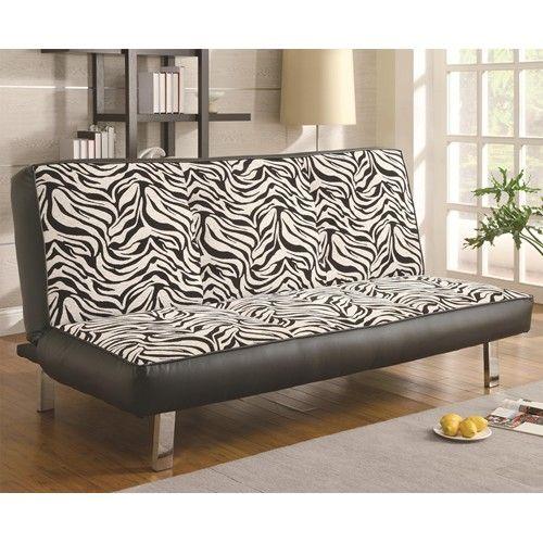 Zebra print furniture... So much Fun! Zebra Klic-Klac 7dayfurniture.net