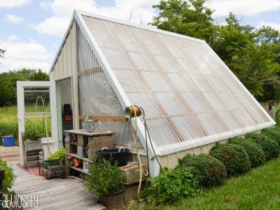 97 best Greenhouse plans images on Pinterest