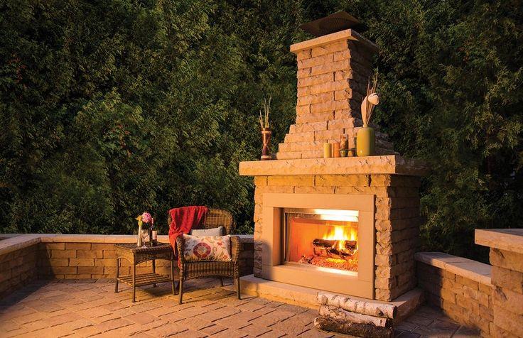 Best 25 Outdoor Fireplace Kits Ideas On Pinterest Diy Outdoor Fireplace Fireplace Kits And
