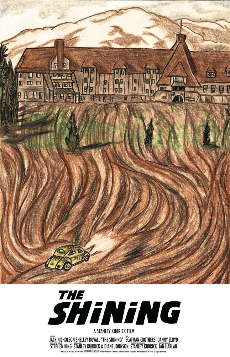 Poster de The Shinning, hecho por mí #bocetocomun
