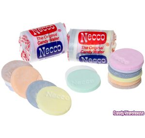 Necco Wafers Candy Mini Rolls - Original: 150-Piece Tub | CandyWarehouse.com Online Candy Store