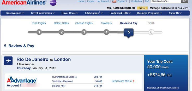 British Airways Fuel Surcharge Brazil -3