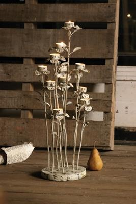 $99 candelabraTeas Lights Holders, Trav'Lin Lights, Lighting, Wildflowers Candelabra, 99 Candelabra, Tea Lights