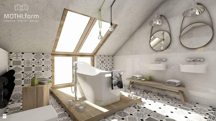 łazienka skandynawska - zdjęcie od MOTHI.form - Łazienka - Styl Skandynawski - MOTHI.form