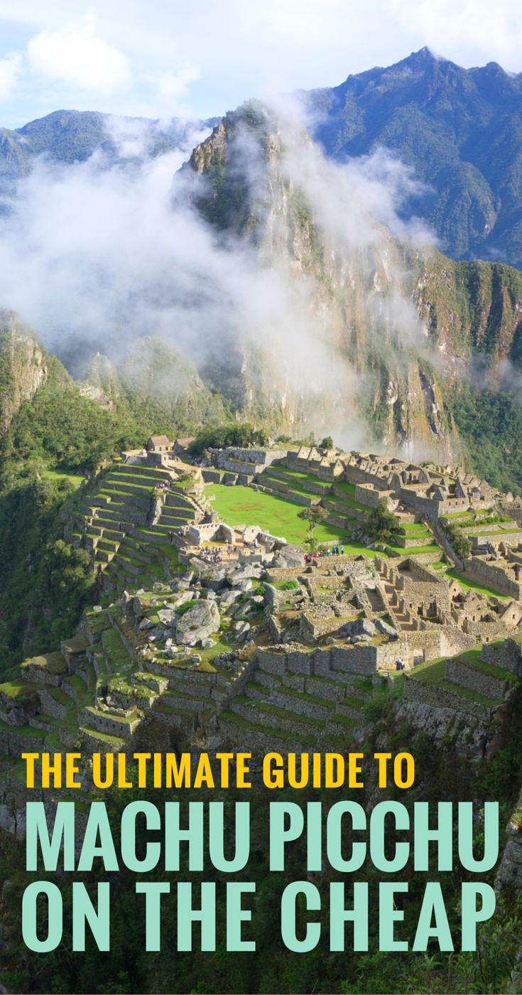 Did you know that you can get to Machu Picchu WITHOUT a tour? Or that you can sleep practically next door for $12+ a night? Here's an ultimate guide with EVERYTHING you need to know to visit here affordably, any way you like! #budgettravel #machupicchu
