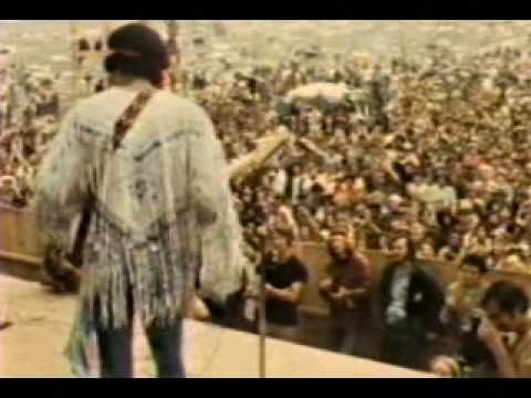 ▶ Jimi Hendrix Voodoo Child and The Star Spangled Banner [Live at Woodstock 1969] `j