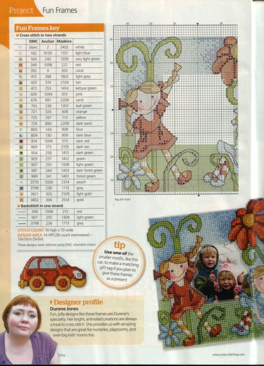 Gallery.ru / Фото #67 - The world of cross stitching 186 + Springtime card cuties - tymannost