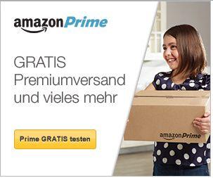 30 Tage kostenlos Amazon Prime testen!