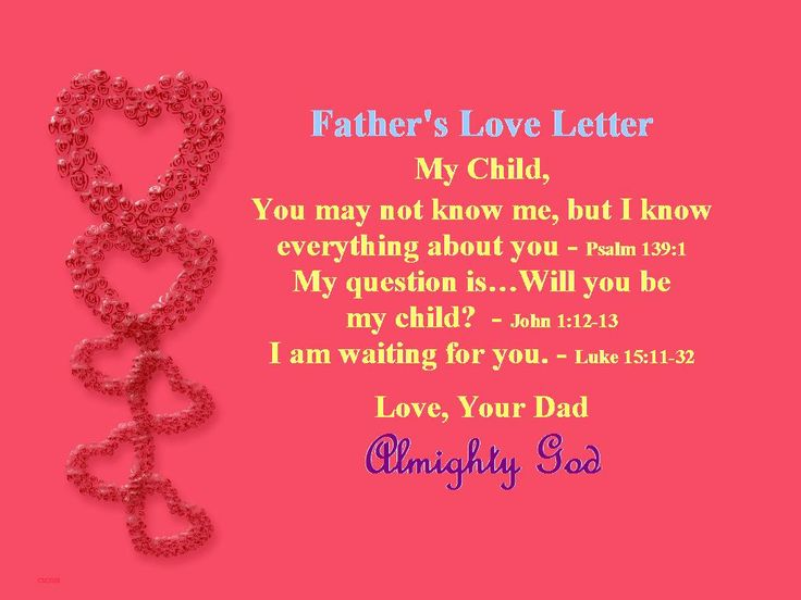 Best 25 Father s love letter ideas on Pinterest