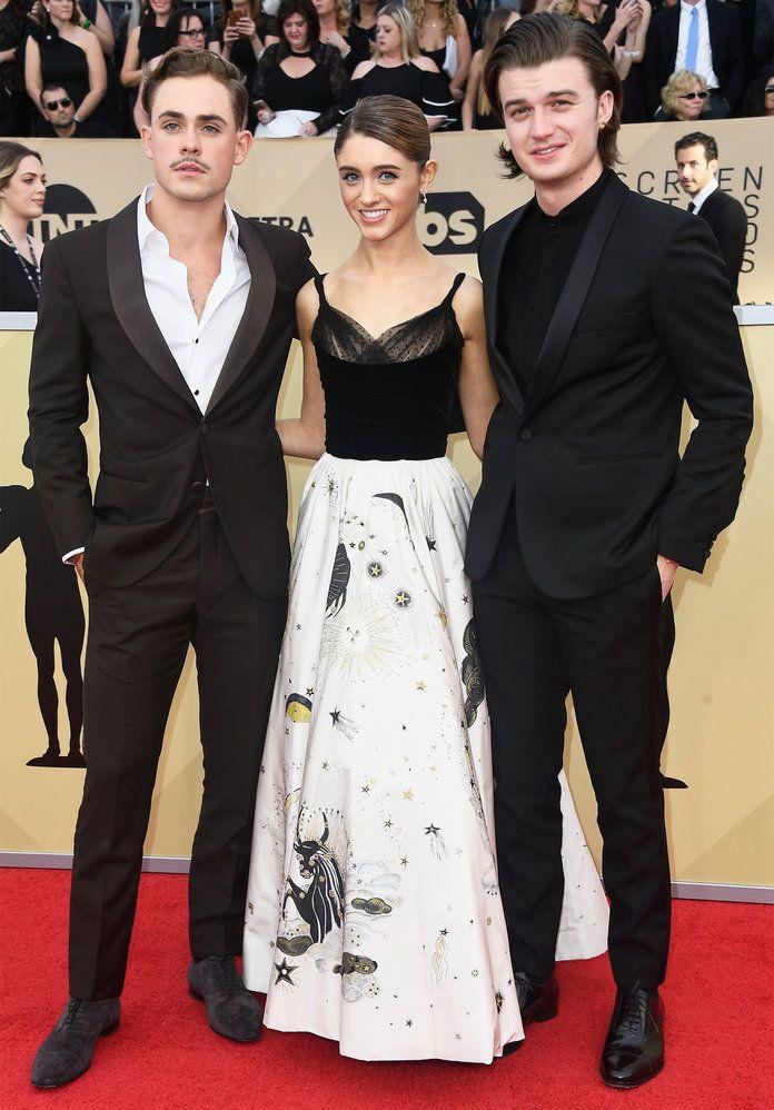 The Stranger Things Cast Shut Down the SAG Awards Red Carpet
